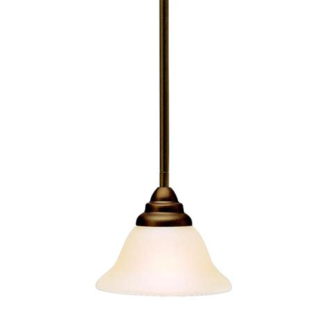 kichler one light olde bronze mini pendant 3476oz