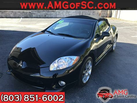 Mitsubishi Eclipse Spyder Gt For Sale by 2008 Mitsubishi Eclipse Spyder Gt For Sale In Columbia