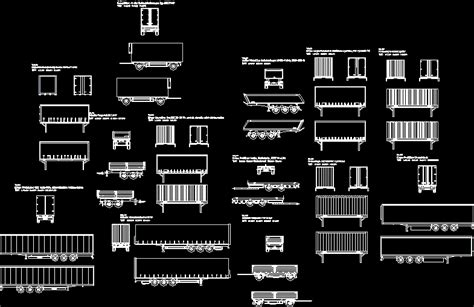 containers  miscellaneous templates dwg plan  autocad designs cad