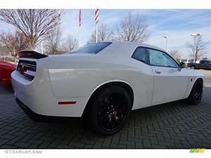 2015 Ivory White Tri-Coat Pearl Dodge Challenger SRT ...