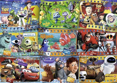 puzzle disney pixar movies ravensburger   pieces
