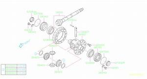 2015 Subaru Outback Manual Transmission Differential