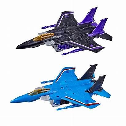 Transformers Thundercracker Skywarp Wfc Earthrise Voyager Cybertron
