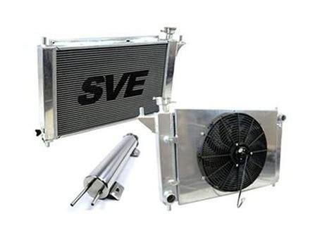 mustang radiator fan not working sve mustang aluminum radiator fan overflow kit auto