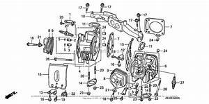 Honda Engines Gxv670u Tae2 Engine  Jpn  Vin  Gjahk
