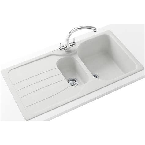 Franke Calypso Propack Cog 651 Fragranite Polar White Sink