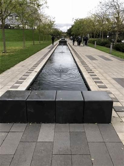 Nottingham Campus Jubilee Innovative Architecture University Fountain