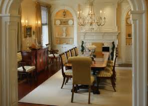 colonial style home interiors period colonial home dining room philadelphia by