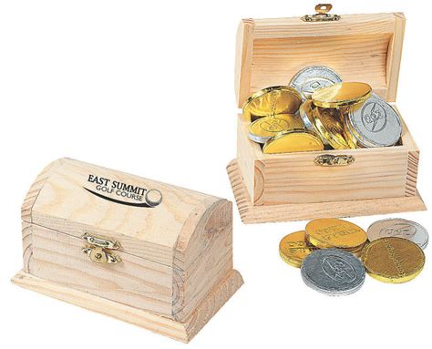 unfinished wood treasure chests diy wooden craft boxes