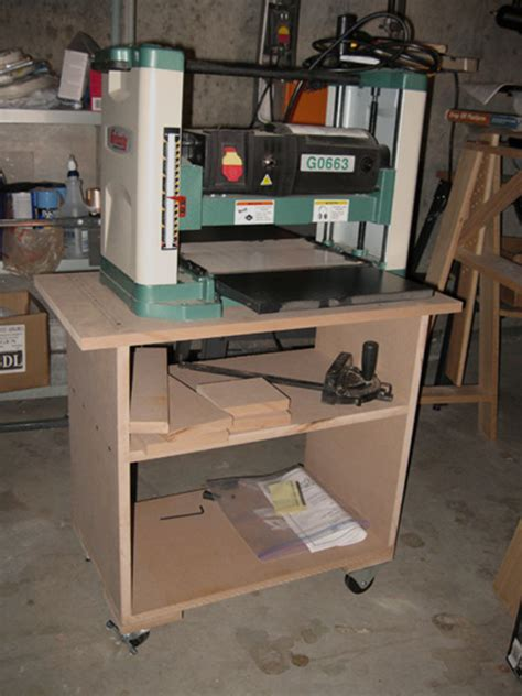 rolling stand    planer finewoodworking