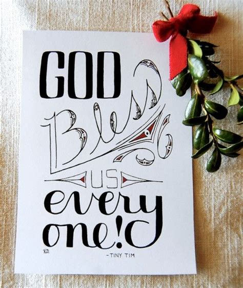 God Bless Us Everyone Quotes