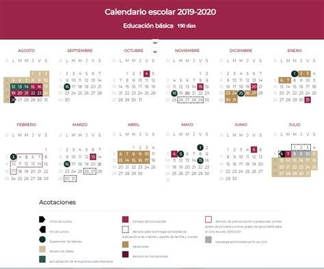 presentan el nuevo calendario escolar checa
