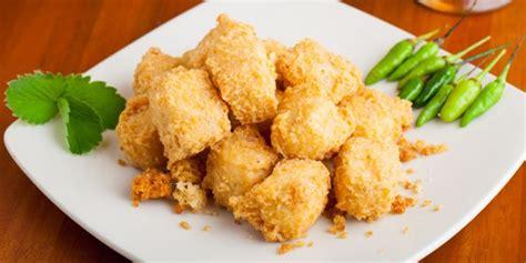 Resep 'nugget tahu sayur' paling teruji. Kuliner: Resep Tahu Goreng Isi Sayur Renyah   Vemale.com