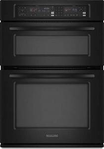 KitchenAid KEMS378SBL 27quot Microwave Combination Wall Oven