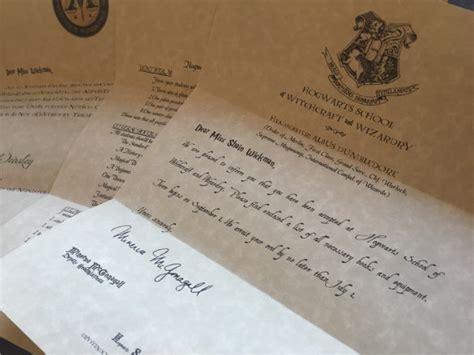 sample hogwarts acceptance letter   documents