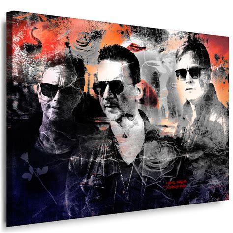 Bild Als Poster by Depeche Mode Bild Auf Leinwand Wandbilder Kunstdrucke