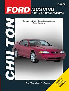 Ford Mustang Chilton Repair Manual  1994-2004