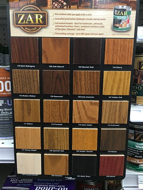 image result  zar interior stain colors  wood zar