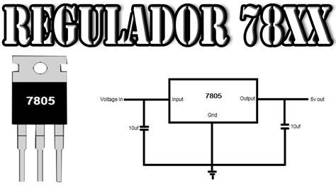 como medir un regulador de voltaje 7805 complicaciones