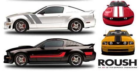 roush stripe kits  quick ford mustang customization