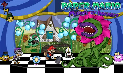 paper mario fan game paper mario mirror of infinity chapter 2 by renleixue on