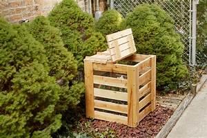 Composteur D Appartement : cr er un composteur pour le jardin avec des planches de cl ture en bois ~ Preciouscoupons.com Idées de Décoration