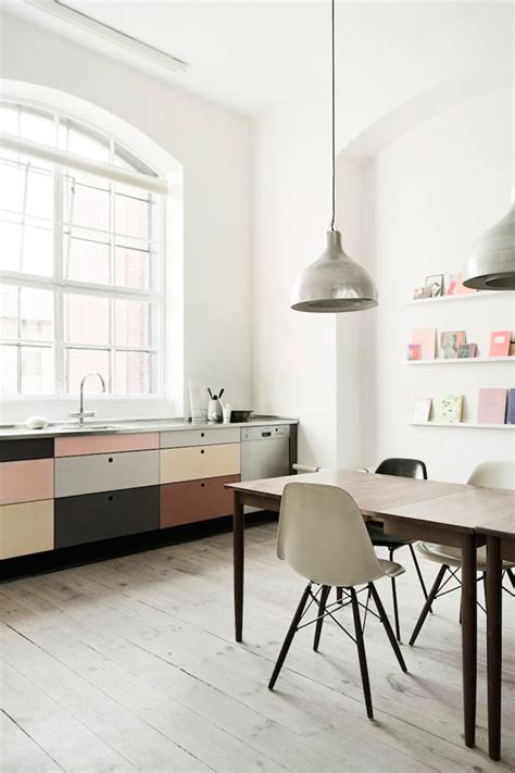 A Kitchen In Pastel Tones  The Style Files