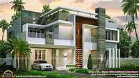 modern home design 4 bedroom contemporary home design - Kerala home design ...