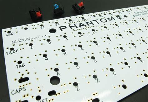 phantom pcb dual layer tenkeyless electrical board mk