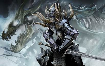 Knight Armor Warrior Fantasy Wallpapers Background Author