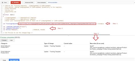 adwords tracking template caignname adgroupname value track parameters