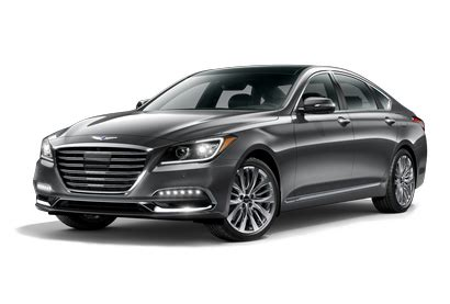 genesis  sedan pricing features ratings