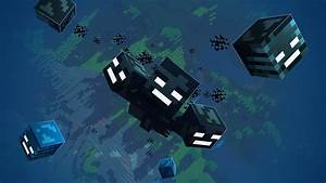 Made this free to use wallpaper of the Wither! : Minecraft