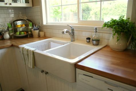 Top Mount Farmhouse Sink Ikea by Bright Apron Sinks In Kitchen Traditional With Top Mount