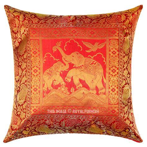 Silk Decorative Pillows by Elephants Motherhood Featuring Decorative Silk Pillow