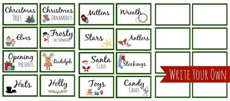 christmas guessing game printables ransichar mp3