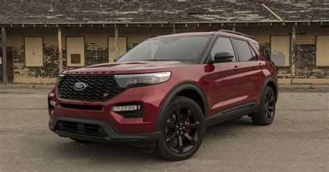 ford explorer st review  midsize suv   focus