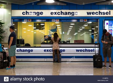 currency exchange airport stock photos currency exchange