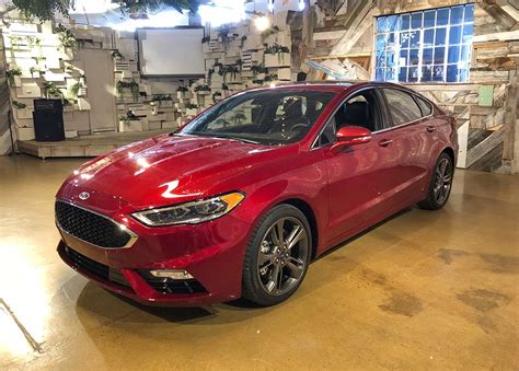 "2019 Fusion To Be Ford's ""most Technologically"