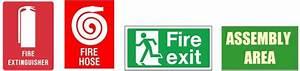 Evacuation Signs And Diagrams