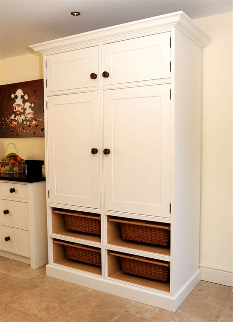 Free Standing Corner Pantry Cabinet Ikea by Kitchen Shaker Style Pantry Cabinet Traditional