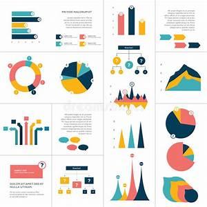 Big Set Of Flat Infographics Elements  Chart  Graph
