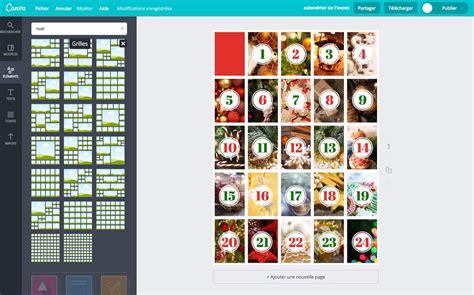 calendrier de l avent à fabriquer cr 233 ez un calendrier de l avent gratuit 224 imprimer canva