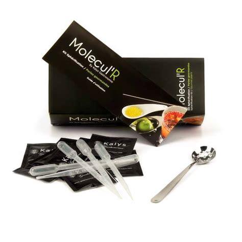 kit de cuisine kit de sphérification kalys cuisine moléculaire kalys