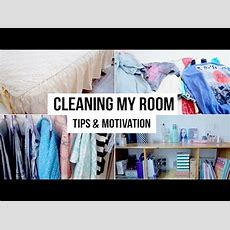 Clean Your Room In 10 Steps  Tips & Motivation Youtube