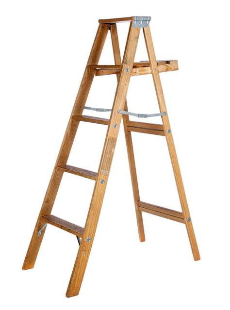 ft wood step ladder gardenista