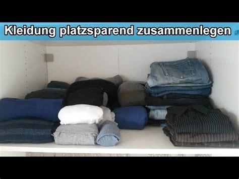 Kleiderschrank Platzsparend Einräumen by Kleiderschrank Organisieren Kleidung Platzsparend