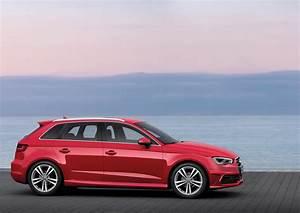 Audi A3 8v : 2014 misano red 8v audi a3 sportback s line eurocar news ~ Nature-et-papiers.com Idées de Décoration