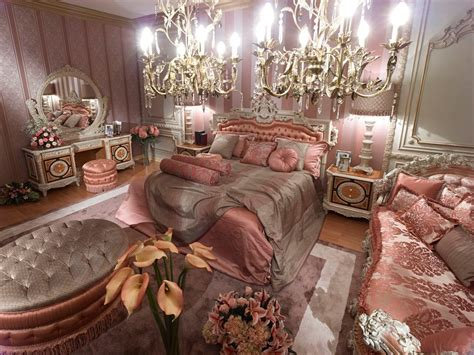 pink classic style italian bedroomtop   italian