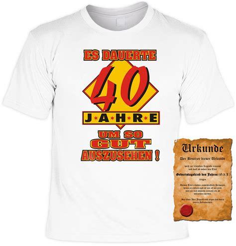 witziges t shirt 40 geburtstag es dauerte 40 jahre um